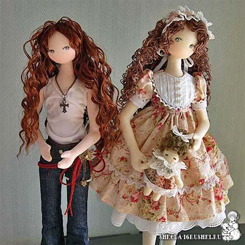 Корейская кукла своими руками 23