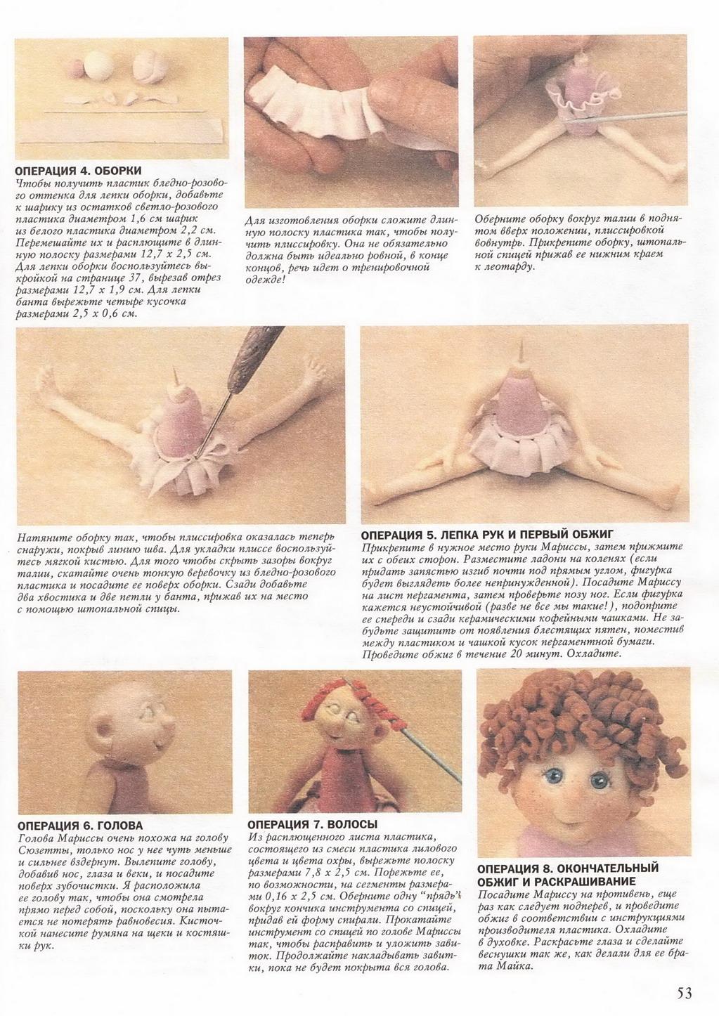 Куклы из пластики