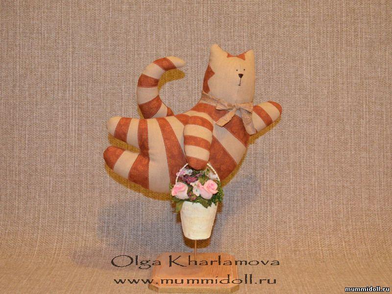 Кукла тильда фото кот