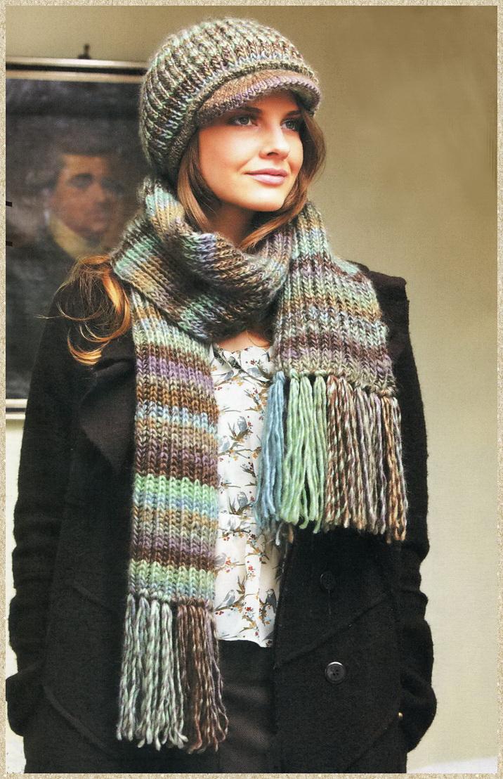 Кепи и шарф
