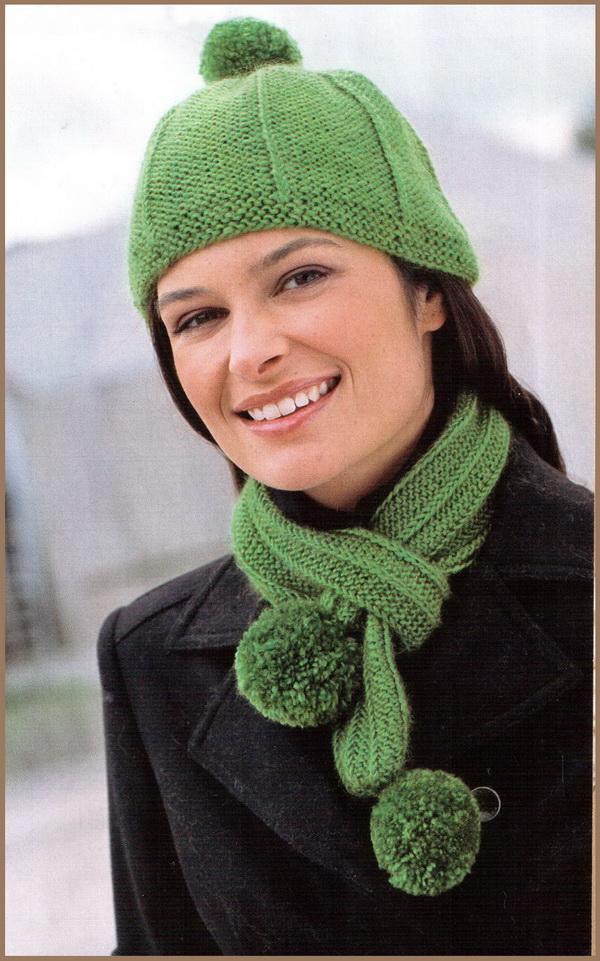 Вязание шапок шарфов и сумок
